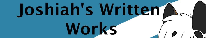 Joshiahs Written Works profile