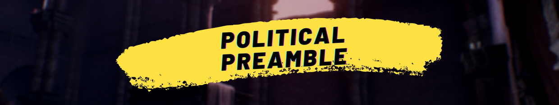 Political Preamble profile