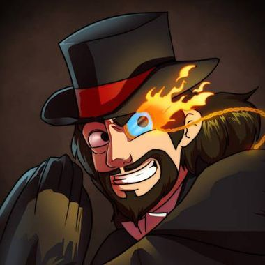 The Flaming Monocle