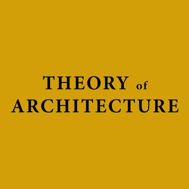 Theory of Architecture