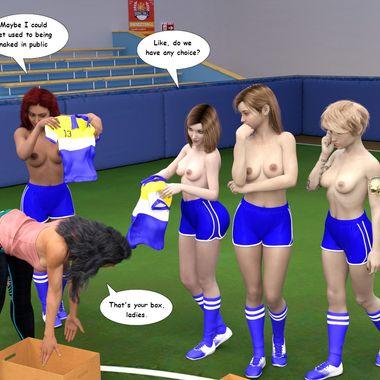 Mass Nudity 3D Comics