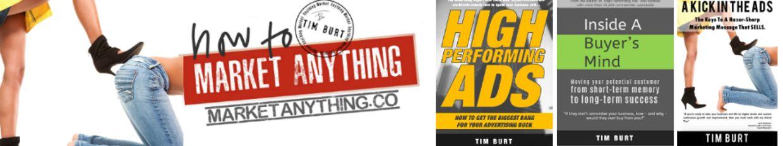 Tim Burt - How To Market Anything profile