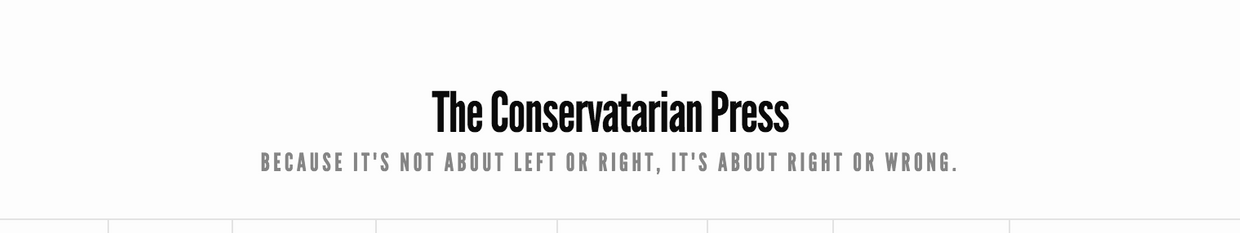 The Conservatarian Press profile