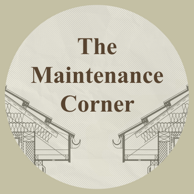 The Maintenance Corner
