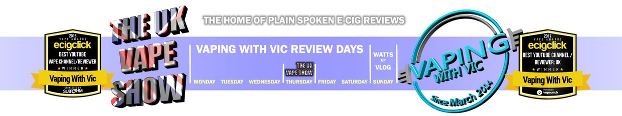 Vaping With Vic + Center Left profile