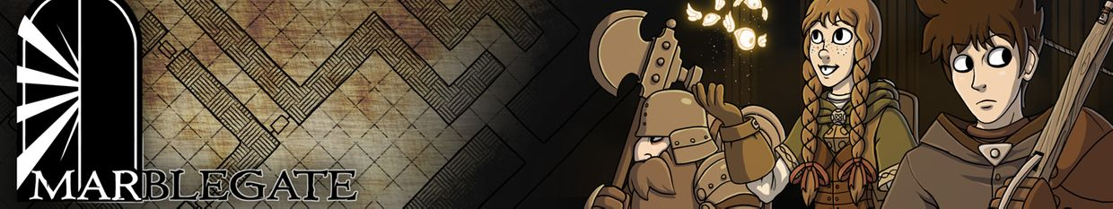Marble Gate Dungeon Comic profile