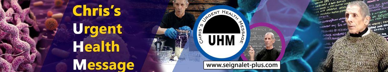 Chris's urgent health message profile